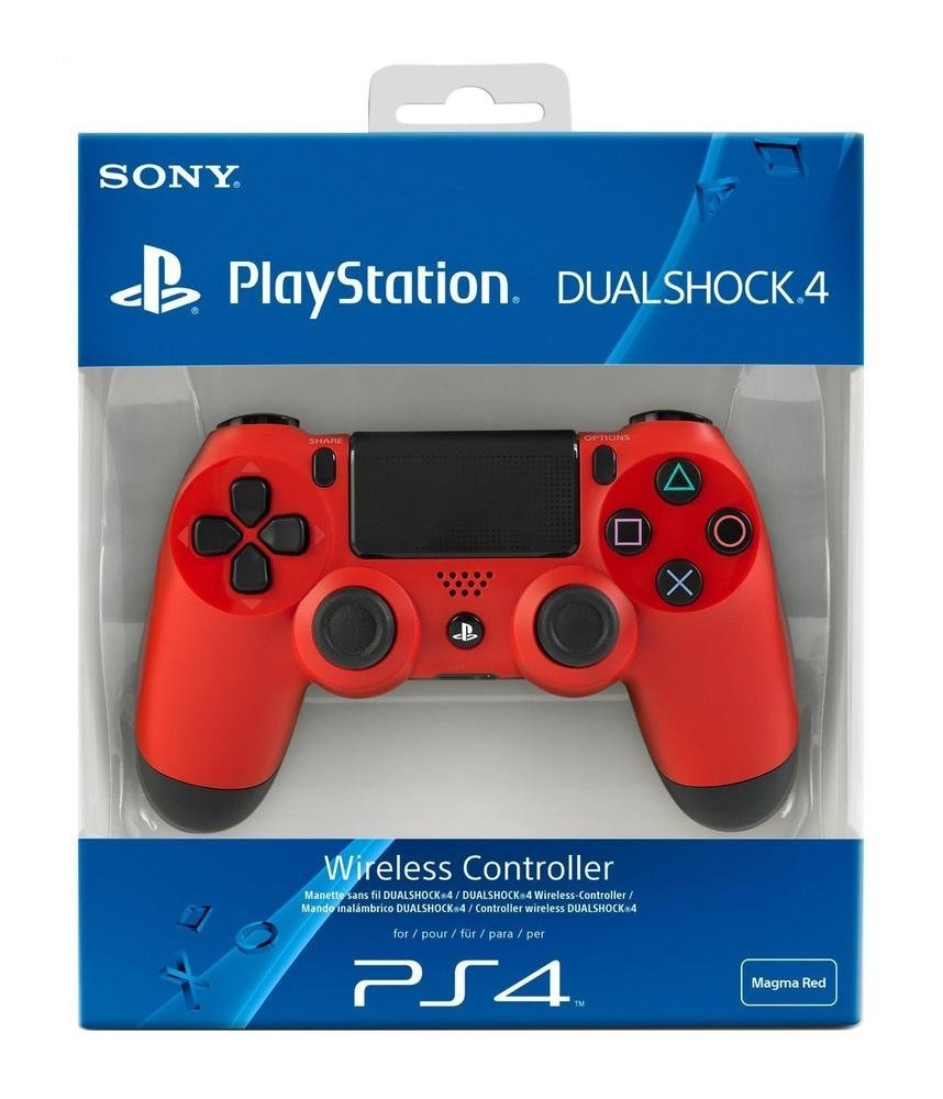 CONTROLLER SONY DUALSHOCK RED PS4